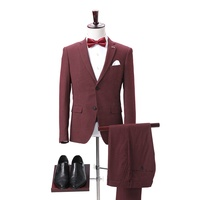 Latest suit styles mens custom made suits casual red suits for men