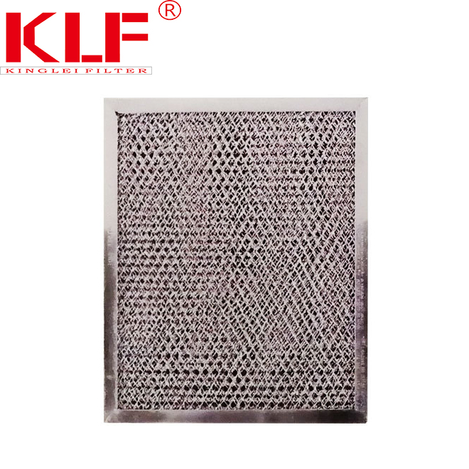 New model microwave oven parts aluminum mesh grease filter