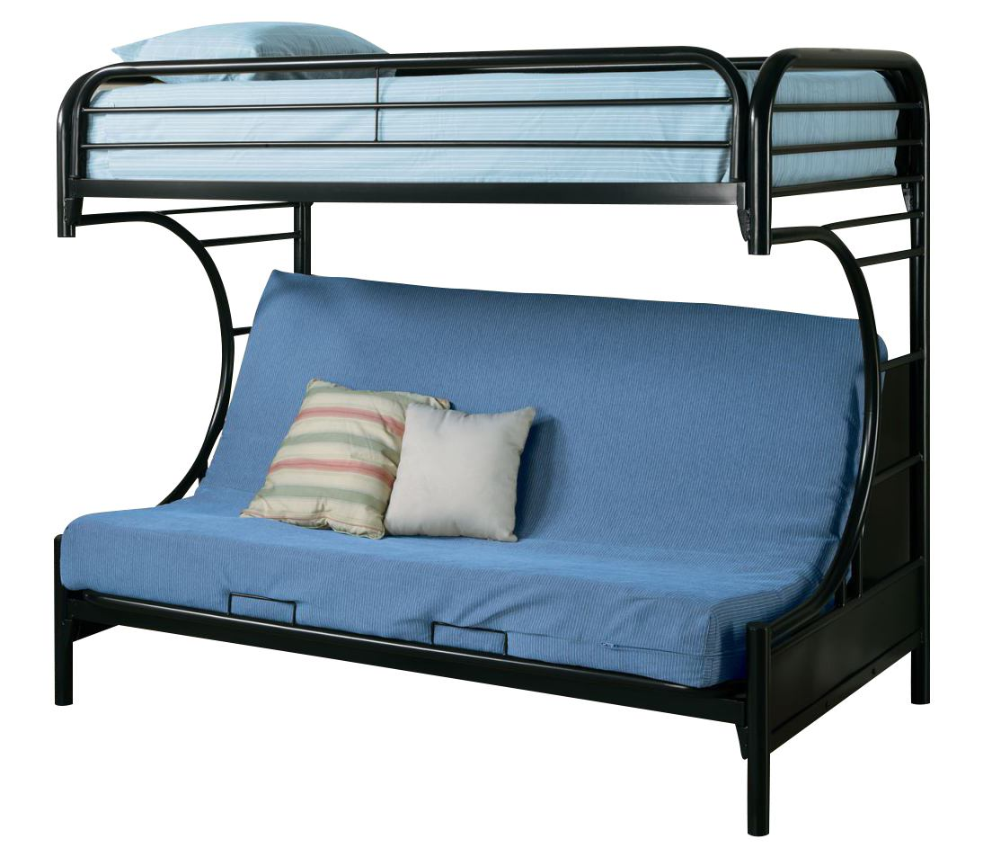 C Style Metal Sofa Bunk Bed