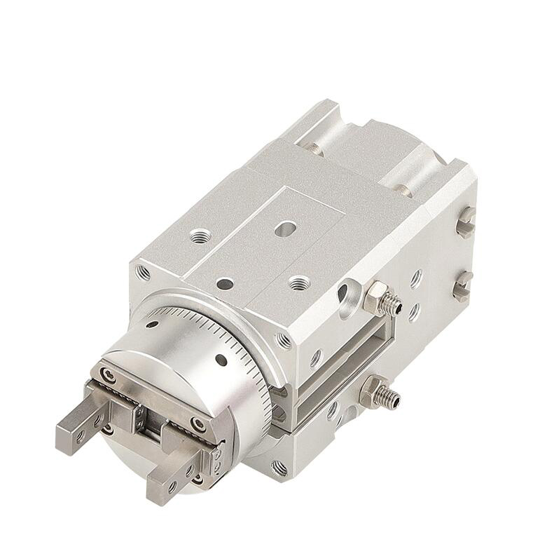 MRHQ Rotary Cylinder bore 10mm MRHQ10D-90S MRHQ10D-180S 90 180 degree Single vane robot gripper Double acting rotary actuator