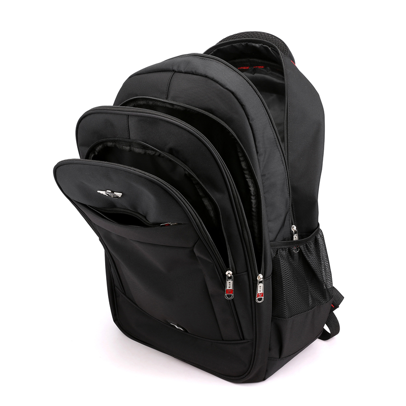 Promotion Gift Cheap Price Black Travel Business Large 17inch Laptop Backpack