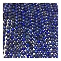 8mm real gemstone round Lapis Lazuli loose beads for bracelet making