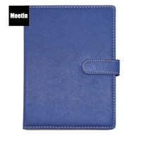 High Quality Wholesale Hardcover PU Leather Business A5 Custom Notebook