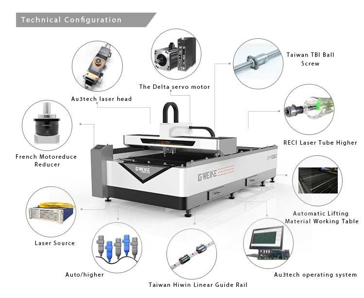Stainless Steel Fiber Laser Cutting Machine Price