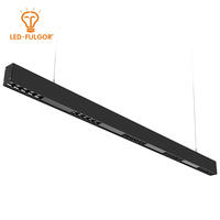Simple design indoor gallery hotel restaurant fixtures aluminum profile 20w led linear batten light