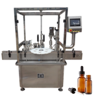 NEW design China 5-200ml propolis tincture filling and capping machine for bottle