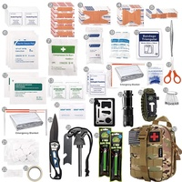 EDC Professional Outdoor Camping Hiking Climbing Emergency Survival Kit 13 in 1 Survival Gear Tool