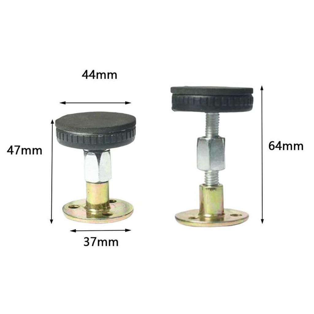 Adjustable Threaded Bed Frame Anti-shaken Tool Telescopic Support Bedside Fixed Device  for Room Wall