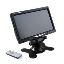 Retrovisore telecomando Alone per Auto Wide Screen 800*480 12V portatile 7 Pollici Car Monitor