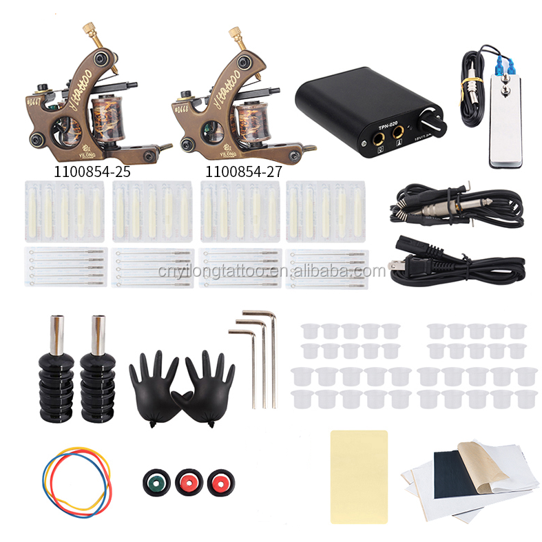 over 20 years experience/supplier of tattoo companies /OEM Copper Tattoo Machine Kit