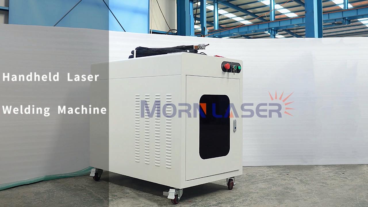 Morn 1000w 1500w 2000w cnc spot portable handheld fiber laser welding machine for stainless steel metal