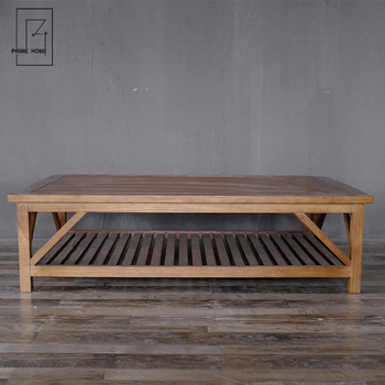 Refusing To Recycle Rustic Wood Hampton Style Folding Living Room Low Height Coffee Table