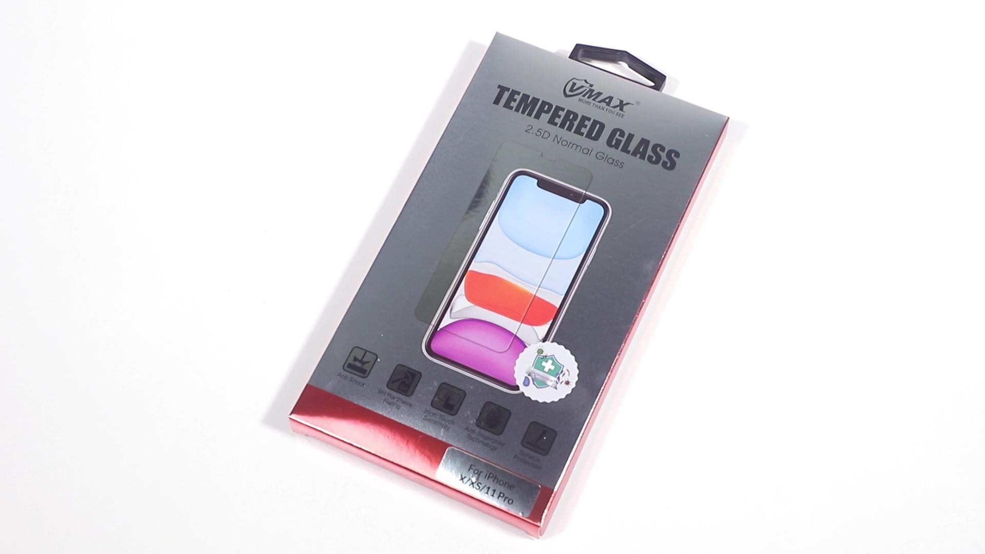 Per il iphone se 2020 protezione dello schermo in vetro temperato 2.5D 9h durezza antigraffio del telefono mobile di protezione in vetro per il iPhone SE 2