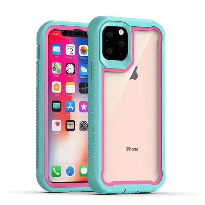 """Caso de Telefone Defensor À Prova de Choque Robusto Heavy Duty Armadura Híbrido Com Clipe Para Cinto Para iPhone 11 12 mini pro Max 5.4 """"6.1"""" 6.5 """"6.7:"""