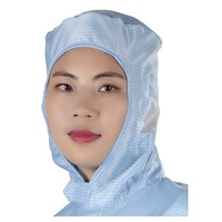 China Factory Cheap Price High Quality ESD Safety Polyester Antistatic Cleanroom Cap