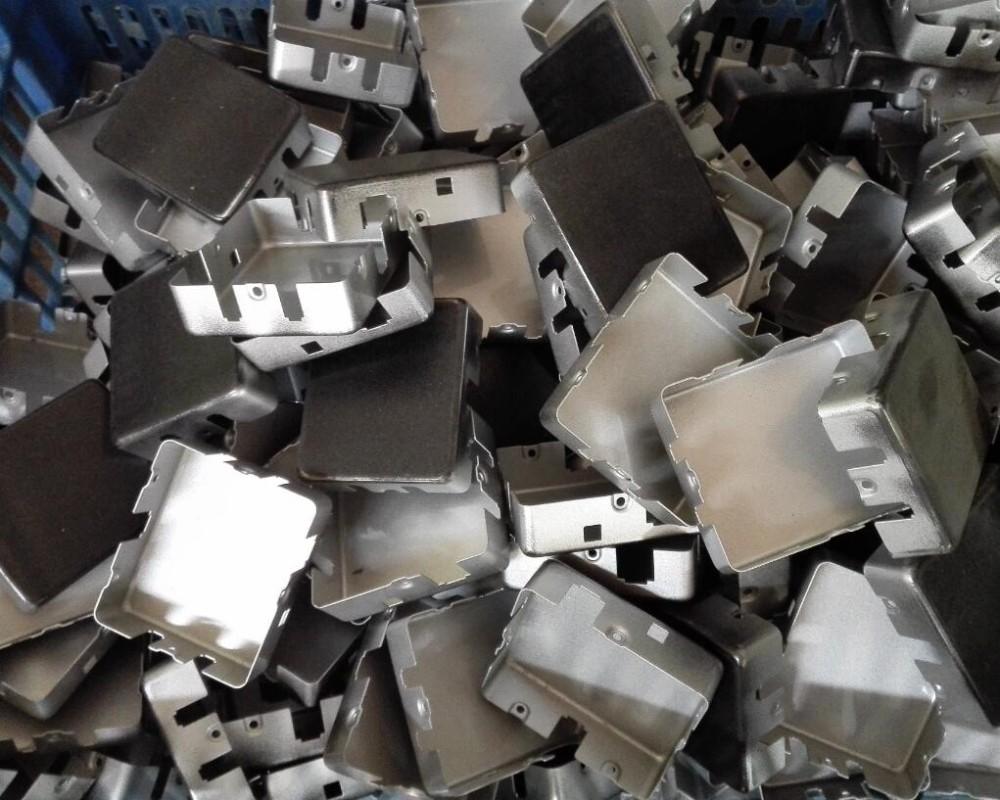 zinc Aluminum die cast led housing die cast model case parts