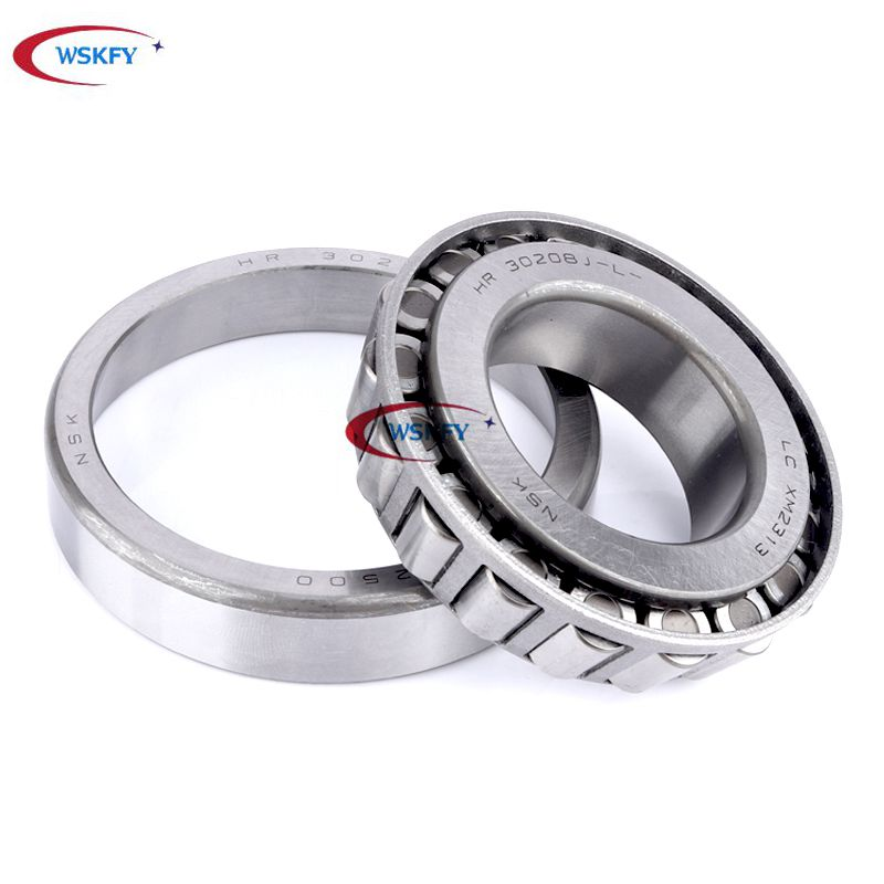 Long life NSK brand inch tapered roller bearing LM501349/LM501311 for trucks