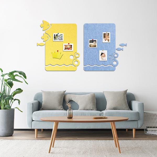 high quality frame 100% pet custom message wall board pin