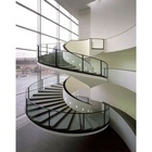 VIKO Super Manufacture Intoor Steel Spiral Stair Metal Curved Staircase
