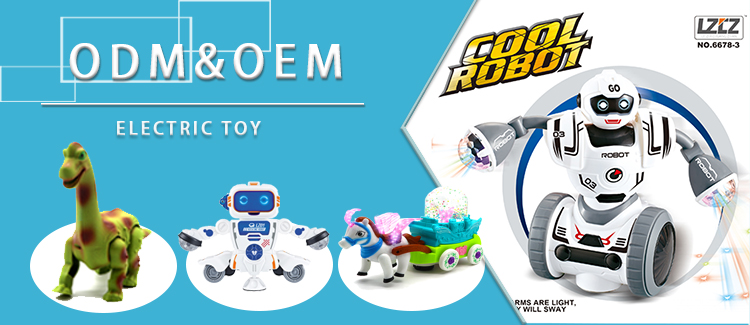 Mini music transform robot electric car DIY car transform robot toy for boy Battery operated toy