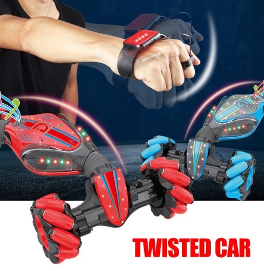 Dwi Dowellin Bigfoot Balap Side Walk RC Twist Drift RC Menonton Mobil Remote Kontrol Mobil dengan Aksi Side Drift