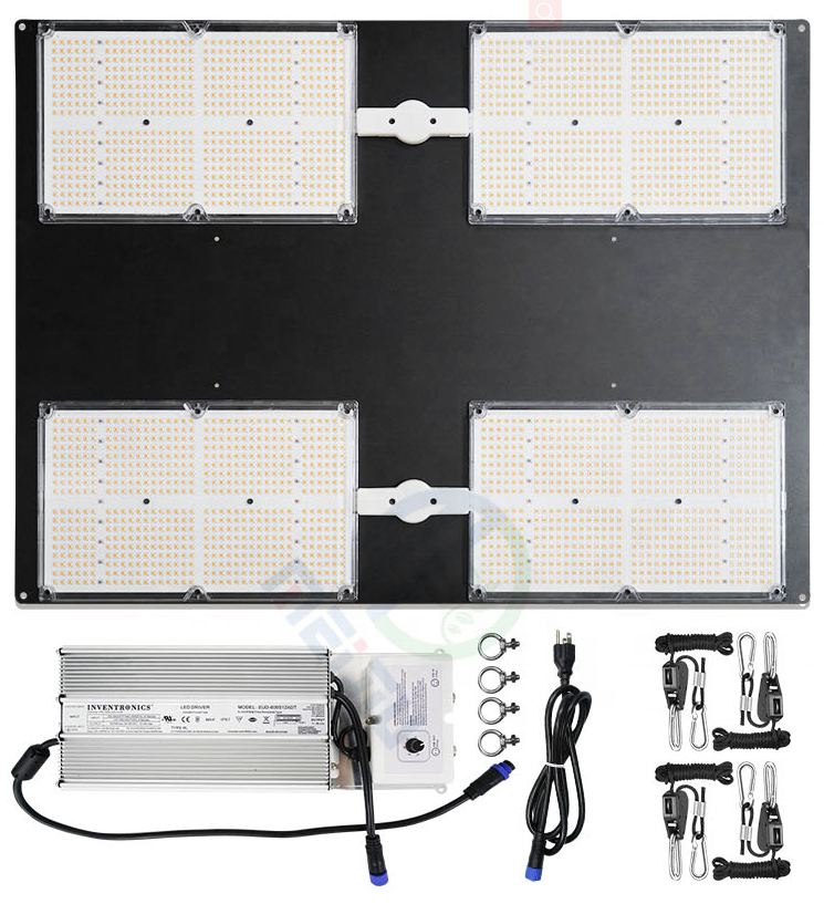 MEIJIU 650R IR Board, Newest 4X4 Lm301 QB Full Spectrum 650 Watts V3 V2 Indoor Smart Grow Lighting Diy Led Kit For green/