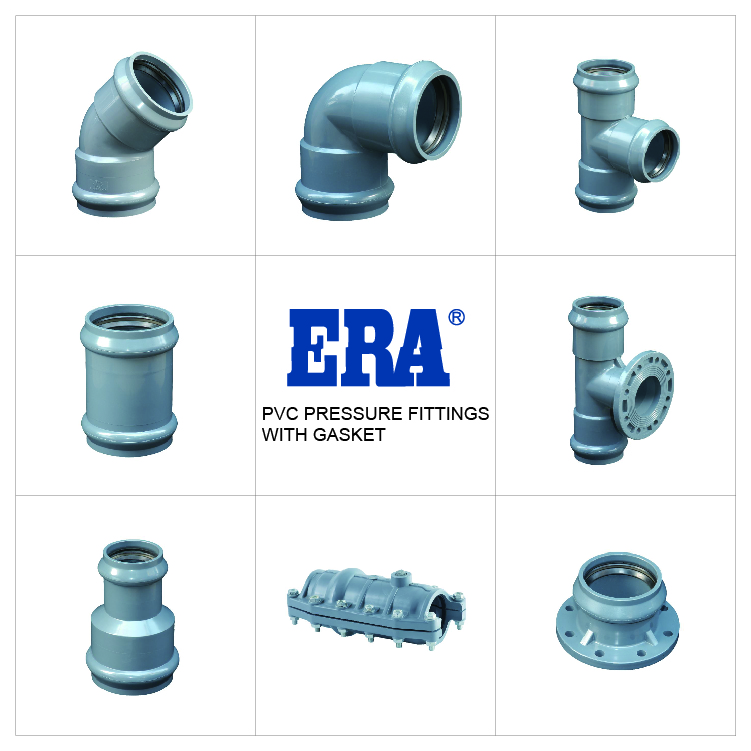 ERA PVC PIPE FITTINGS BLANK FLANGE