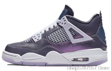 Nike Air Jordan 4 SE What the 4 GS женская Баскетбольная обувь Оригинальные высокие удобные спортивные уличные кроссовки 408452-146()