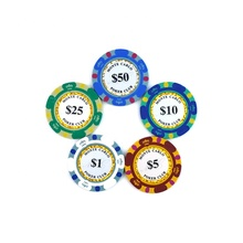 Groothandel Goedkope Custom Denominatie Oversized Juego Golf Mini Metalen Casino <span class=keywords><strong>Poker</strong></span> Chip