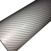 Wholesale Car Interior And Exterior Decoration 3D/2D Carbon Fiber Film Car Vinyl Wrap