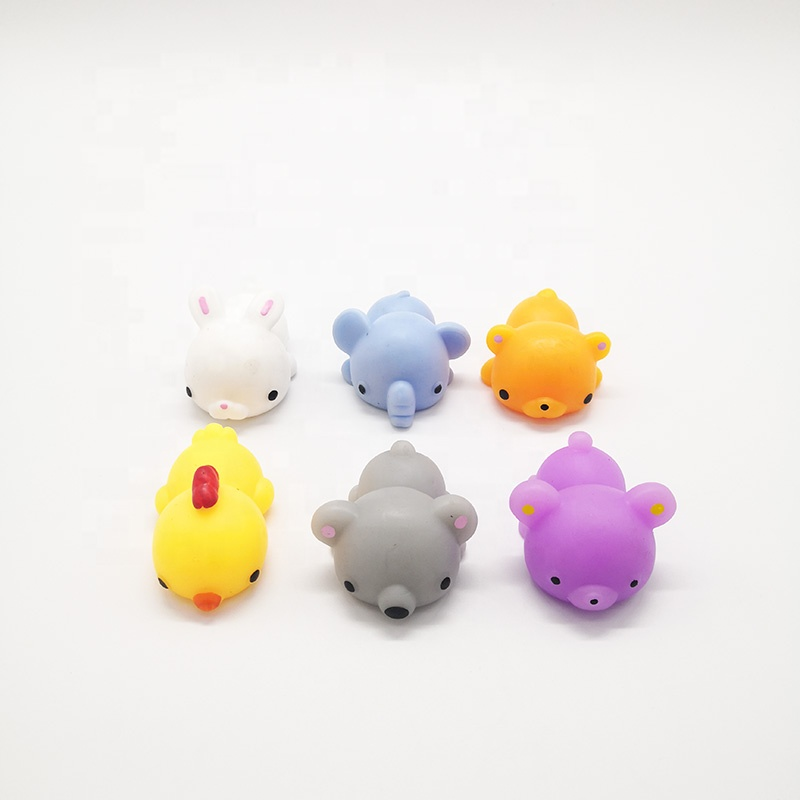 Wholesale TPR Material 10cm Soft Big Size Animal Squishy Mochi Toy