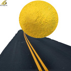 yellow thermoplastic spray powder paving reflective paint for roads