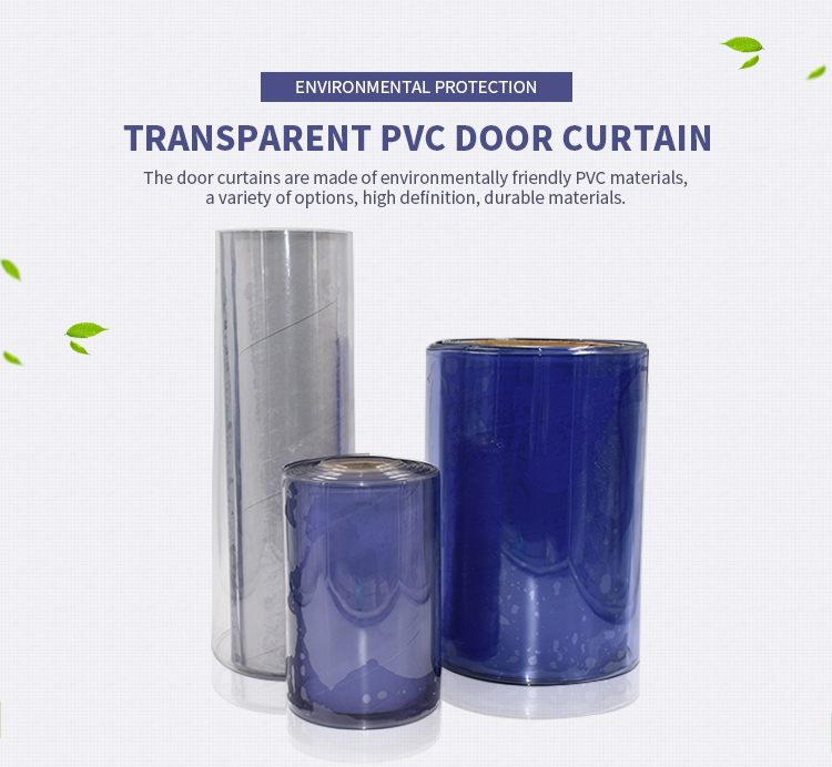 Baixo preço da alta qualidade 1.0 milímetros de Espessura-5.0 milímetros de pvc transparente cortina