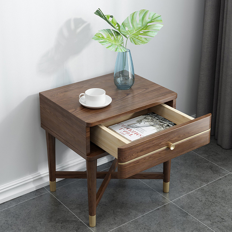product-BoomDear Wood-modern wooden bedside table nightstands newly listing latest dark color movabl