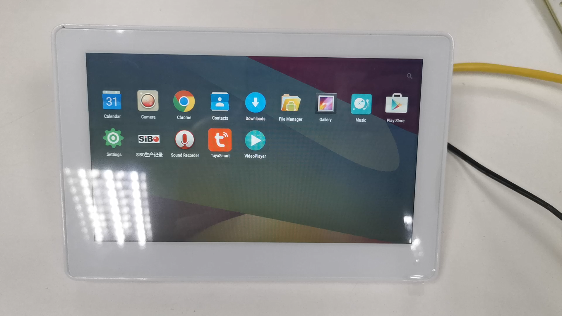 Customized NFC Android Rooted POE Tablets 7 inch IPS 1024*600 WIFI Ethernet Touch Screen