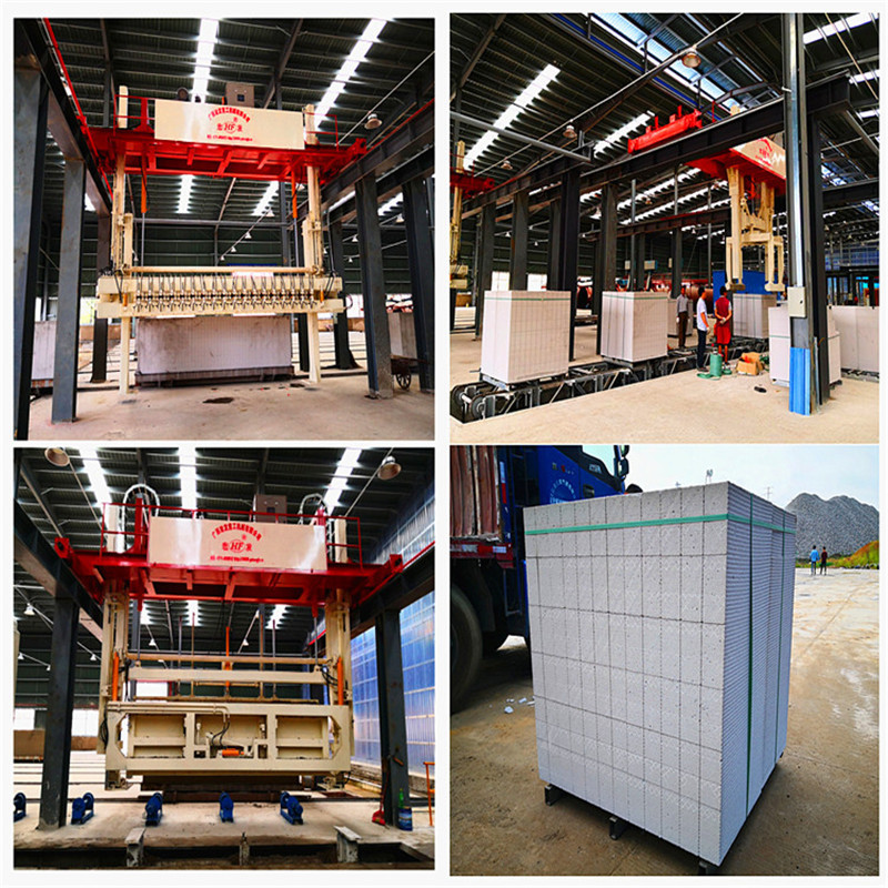 Light Weight AAC Block Making Machine, autoclaved aerated