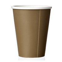 High Quality Compostable disposable Biodegradable Coffee Tea Printed customize kraft Paper PLA PE Paper Cup for European market