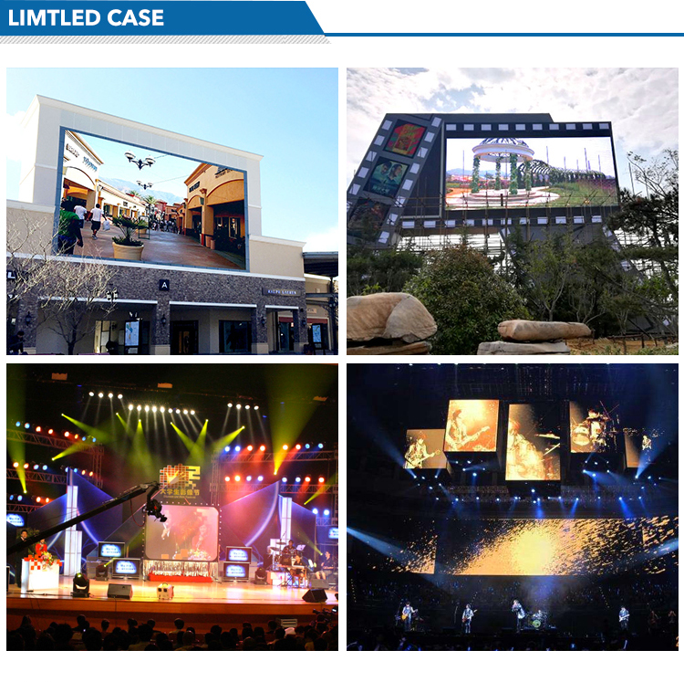 P8 P10 Smd Asrchdg Full Color Kast Coreman Outdoor Gebruikt Led Video Wall/Indoor Multi Color P6 P8 Video grafische Led Scherm