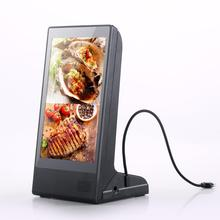 Neue 8 Zoll Android System WiFi 4G Multimedia LCD Touchscreen Kiosk Tabelle Stand Digital Signage Werbung Display-Player