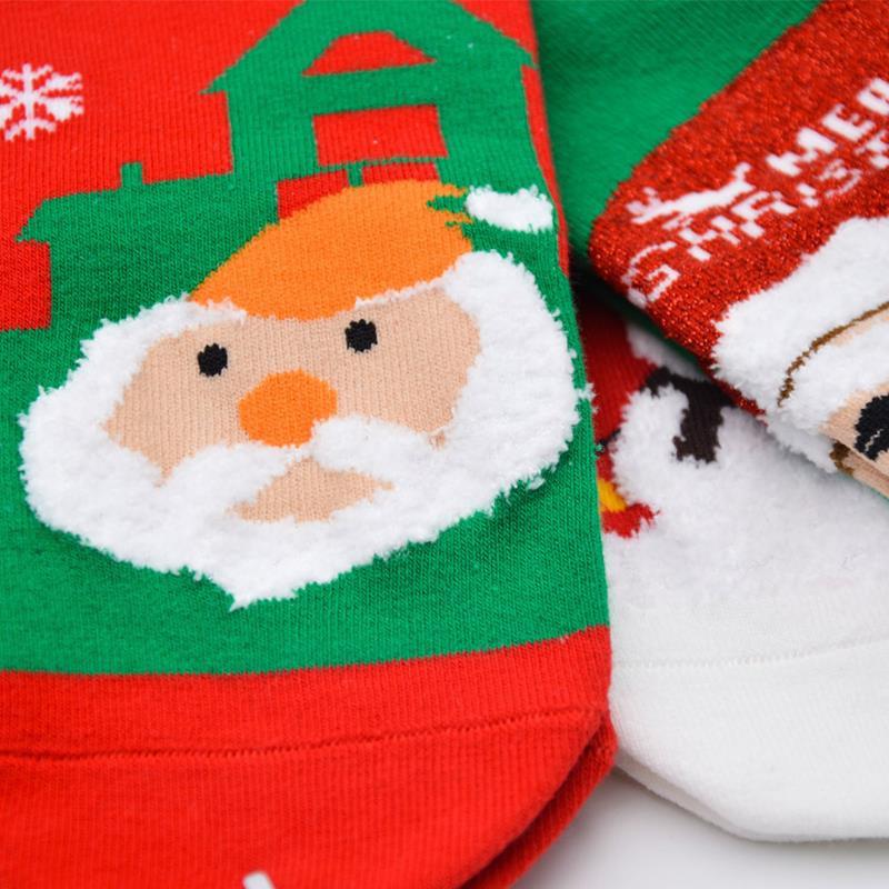 wholesale Men and women  cotton cute women christmas socks women