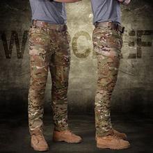 Уличные Свободные повседневные армейские брюки, тактические брюки для мужчин-(полицейский черный) XXL(Китай)