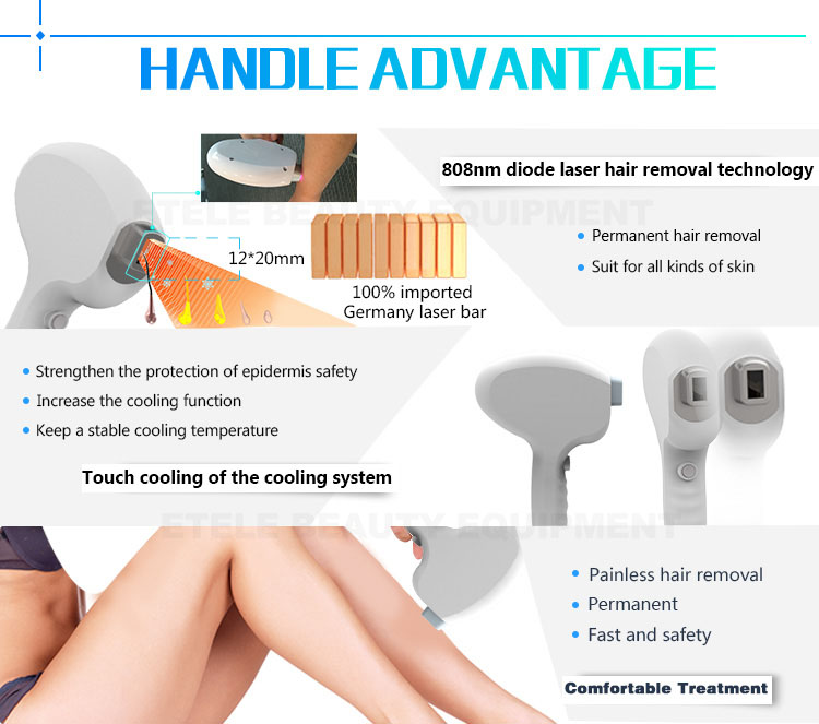 808nm diode laser home laser hair removal machine