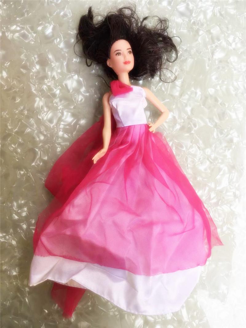 Качественная кукла свадебное платье Принцесса Кукла повседневная одежда ручной работы наряд для 30 см принцесса кукла аксессуары девочка п...(Китай)