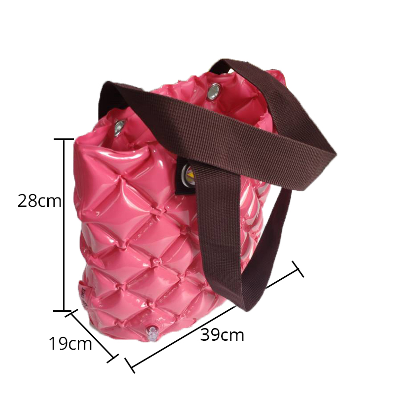 Plastic adult shopping bag inflatable portable beach bag for kids