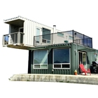 Prefabricated container house prefab office log