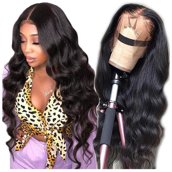 Direct Factory Price 13x4 Body Wave Lace Front Wigs Human Hair Brazilian Human Hair Wigs Cuticle Aligned Virgin Hair Wig