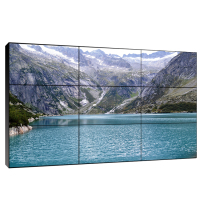 Full color HD big screen LCD TV Ultra side design best price