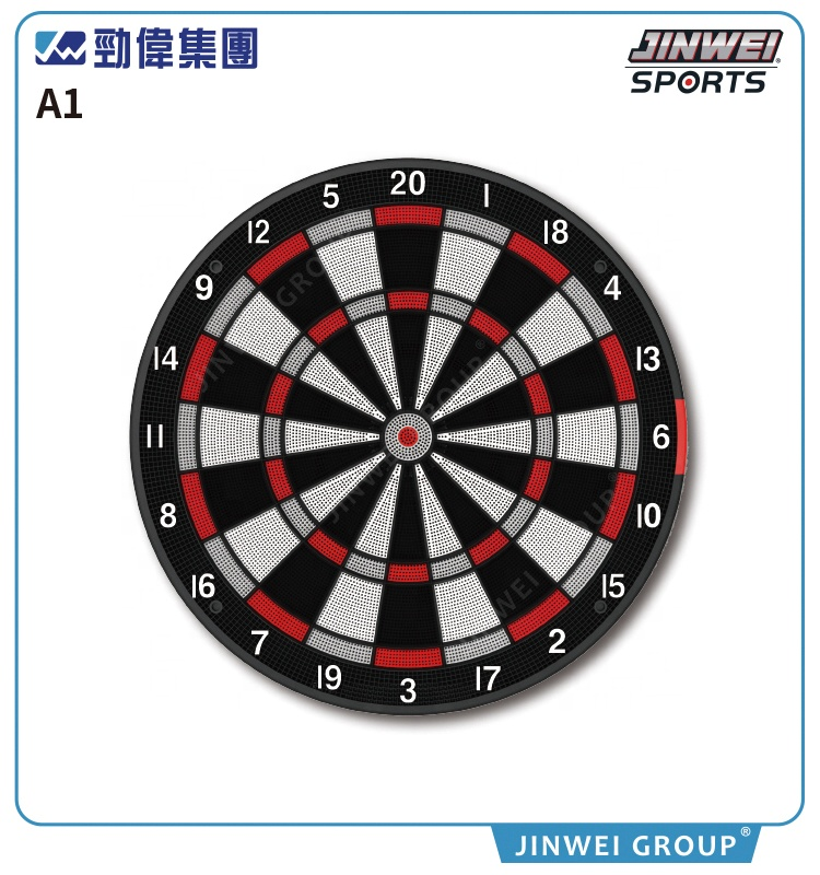 BSCI factory hot sale soft dart 15.5