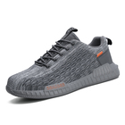 Hot selling pump men knit mesh breathable sports running lady fly knitted shoes with low price