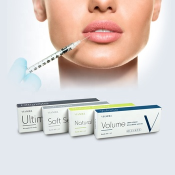 Hyaluronic acid dermal filler cosmetic lip filler